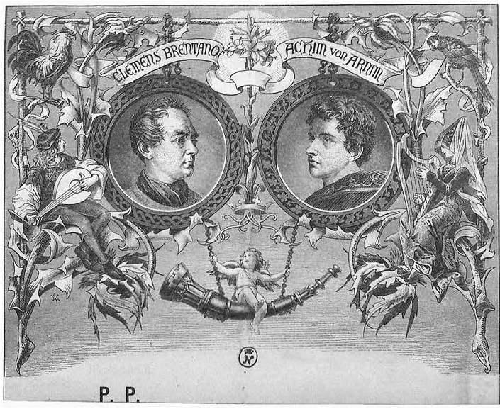 Clemens Brentano and achim von arnim